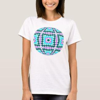 bright pattern gazing ball T-Shirt