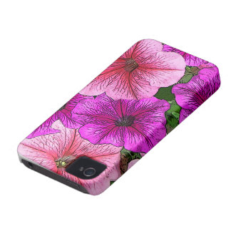 Bright Piink Flowers iPhone Case