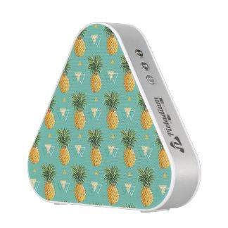 Bright Pineapples On Geometric Pattern Speaker