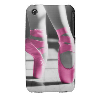 Bright Pink Ballet Shoes iPhone 3 Cases