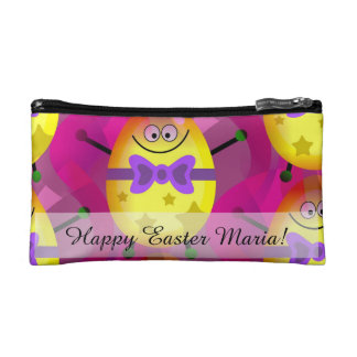 Bright Pink Easter Cosmetic Bag