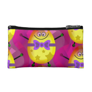 Bright Pink Easter Cosmetic Bags