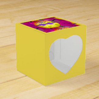 Bright Pink Easter Favor Box