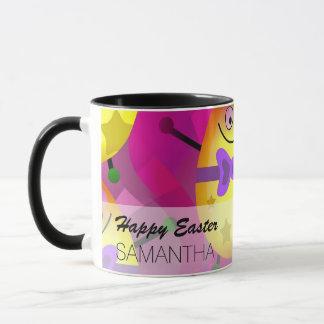 Bright Pink Easter Mug