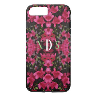 Bright Pink Floral Custom Case