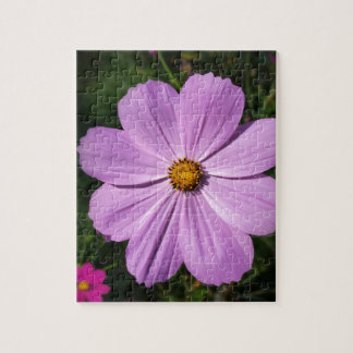 bright pink flowers puzzle