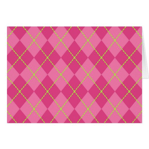 Bright Pink Thank You Card