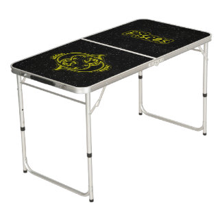 Bright Pisces Beer Pong Table