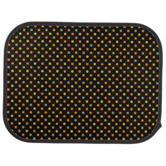 Bright Polka Dot Pattern Car Carpet