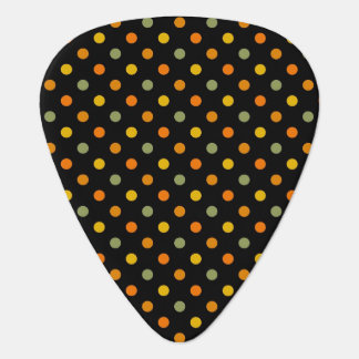 Bright Polka Dot Pattern Guitar Pick
