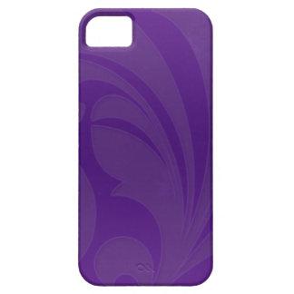 Bright Purple Flourish Case For The iPhone 5