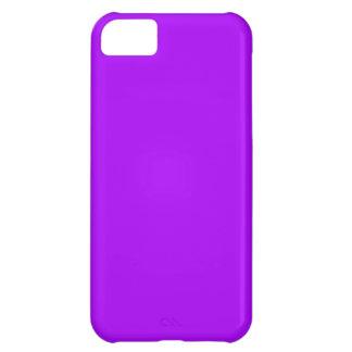 Bright Purple Fuchsia Neon Purple Color Only Case For iPhone 5C