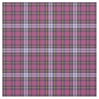 Bright Purple Girly Plaid Fabric