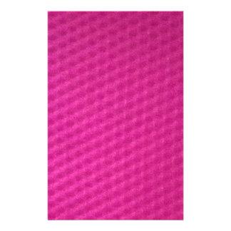 Bright purplish pink with depressions stationery paper