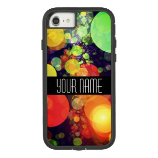 Bright Rainbow Bokeh Lights Case-Mate Tough Extreme iPhone 8/7 Case