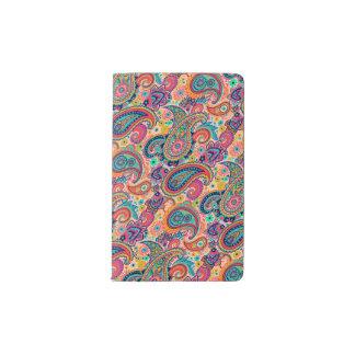 Bright Rainbow Paisley Pocket Moleskine Notebook
