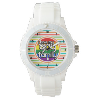 Bright Rainbow Stripes, Gay Family Watch