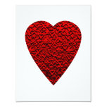 Bright Red Heart Picture. Announcements