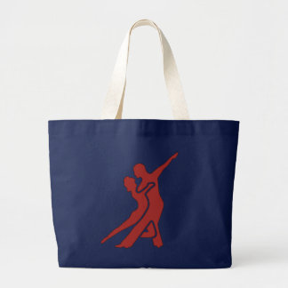 Bright Red Logo Bag