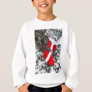 Bright Red Santa Stocking Sweatshirt