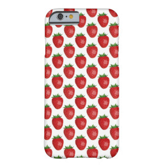 Bright Red Strawberries iPhone 6/6s, Barely There Barely There iPhone 6 Case