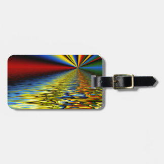 Bright Reflection Luggage Tag