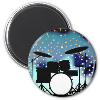 Bright Rock Band Stage Magnet