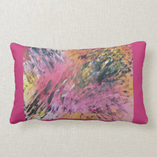 Bright Rock & Roll Style Comfy Lumbar Pillow