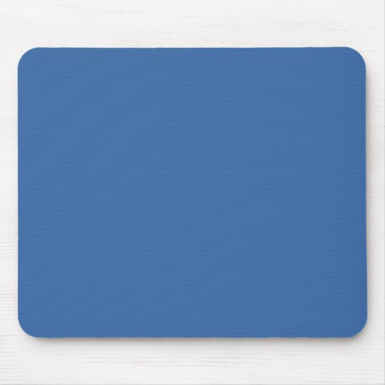 Bright royal blue mouse pad