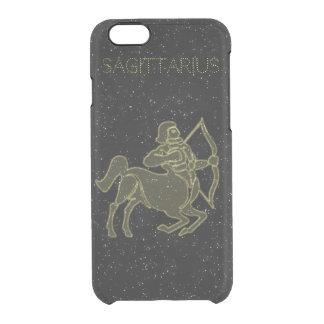 Bright Sagittarius Clear iPhone 6/6S Case