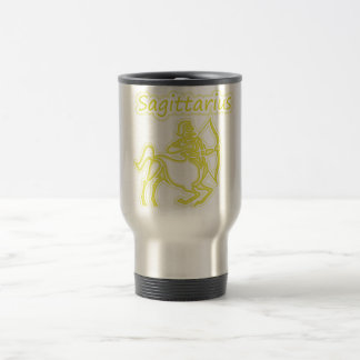 Bright Sagittarius Travel Mug
