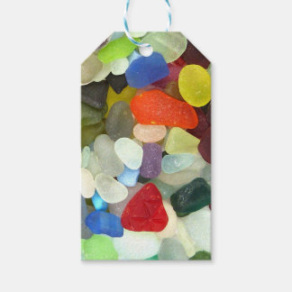 Bright Sea Glass Pack Of Gift Tags
