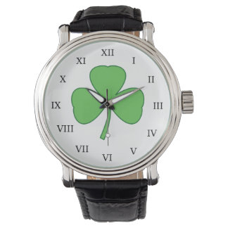 Bright Shamrock Watch