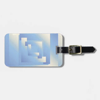 bright sky colors luggage tag