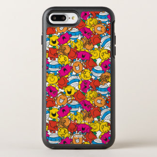 Bright Smiling Faces | Add Your Name OtterBox Symmetry iPhone 8 Plus/7 Plus Case