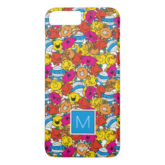 Bright Smiling Faces | Monogram iPhone 7 Plus Case