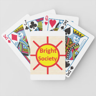 Bright Society Bicycle Playing Cards
