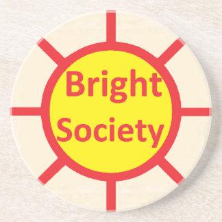 Bright Society Coaster