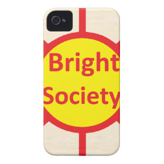 Bright Society iPhone 4 Covers