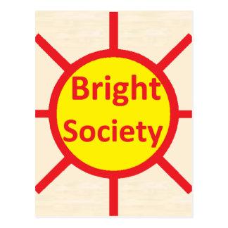 Bright Society Postcard