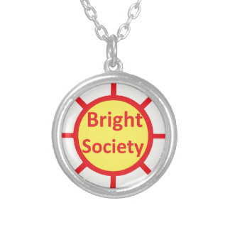 Bright Society Silver Plated Necklace