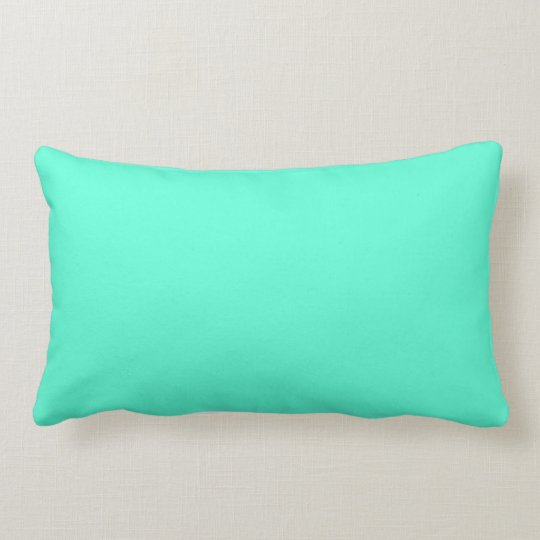 Bright solid  throw pillow