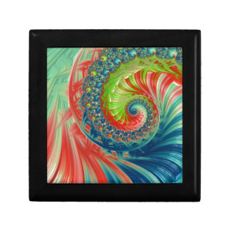 Bright Spiral Gift Box