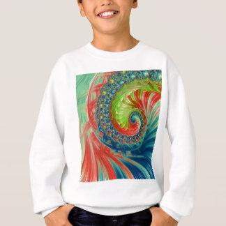 Bright Spiral Sweatshirt