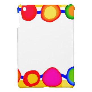 Bright spots dots colorful iPad mini covers