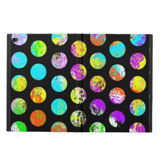 Bright Spots On Black Pattern