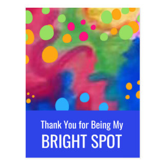 Bright Spots™ Thank You by Beth Wellesley Postcard