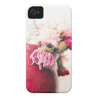 Bright Spring Blooming Flowers iPhone 4 Case-Mate Cases