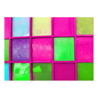 bright squares atc aceo pack of chubby business cards