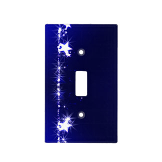 Bright stars light switch cover
